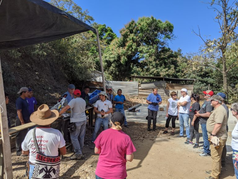 Meeting the community of El Limonar on Monday